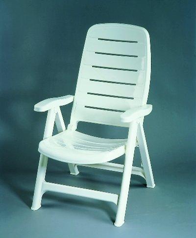 Bolero kerti szék fehér Flair