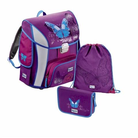 68b22a8027f4 Hama iskolatáska - hátizsák 3 részes szett Pillangó - 129126 Sport ...