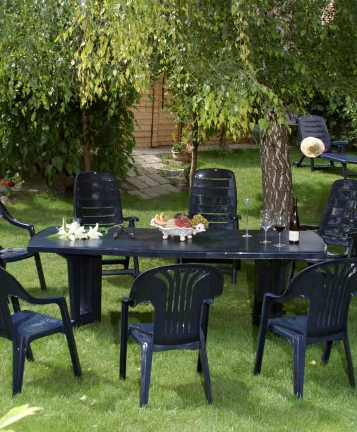 Asztalok Kerti bútor webáruház: műanyag kerti asztal, szék