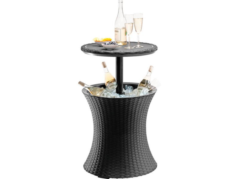 Cool Bar Rattan asztal antracit